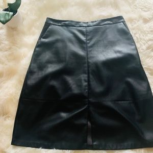 A New Day Faux Leather skirt